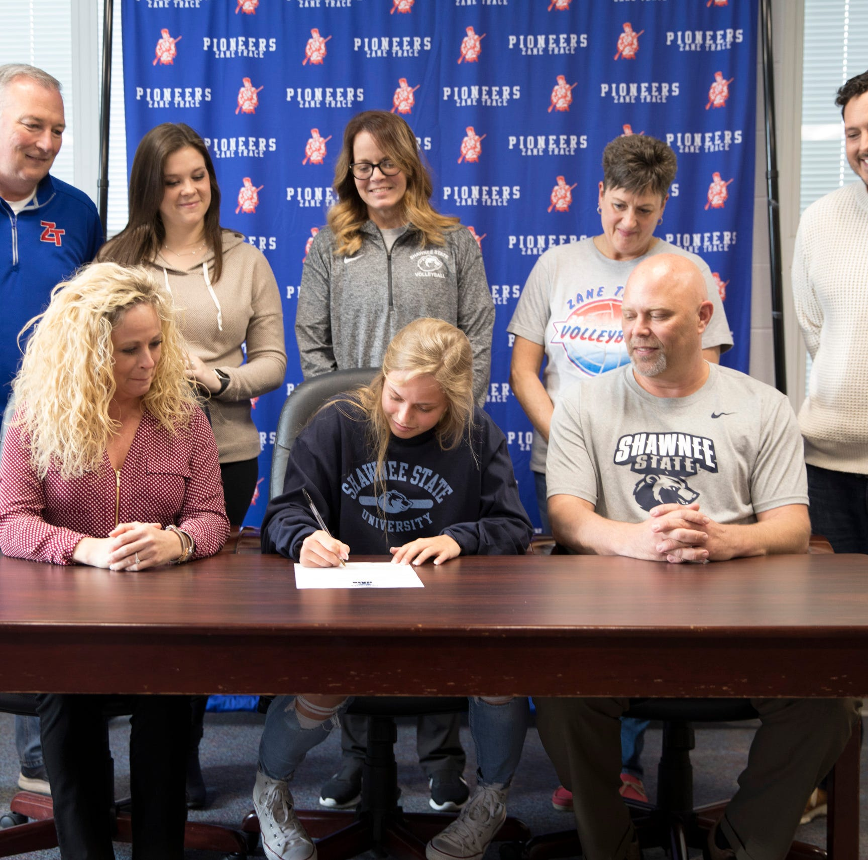 Zane Trace's Maddie Rann signs to play play college volleyball at Shawnee State University