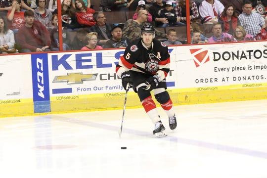 Cincinnati's Eric Knodel was named the ECHL's Defenseman of the Year.