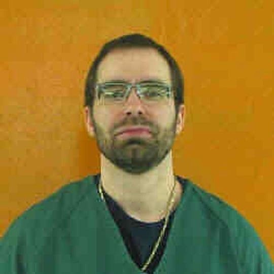 This undated file photo provided by the Ohio Department of Rehabilitation and Correction shows Greg Reinke. Reinke, who stabbed four fellow prisoners and a guard in separate bloody attacks, is on a hunger strike inside Ohio's toughest prison, alleging mistreatment. Reinke is housed at the state's supermax prison in Youngstown. He says he's being harassed by guards, denied proper recreation time and lives in a bare cell with no place to put his clothes. Sara French is a spokeswoman with the Department of Rehabilitation and Correction. She confirms Reinke has missed 14 meals as of Tuesday, April 16, 2019, meeting the agency's definition of a hunger strike. French denied Reinke is being mistreated. (Ohio Department of Rehabilitation and Correction via AP, File)