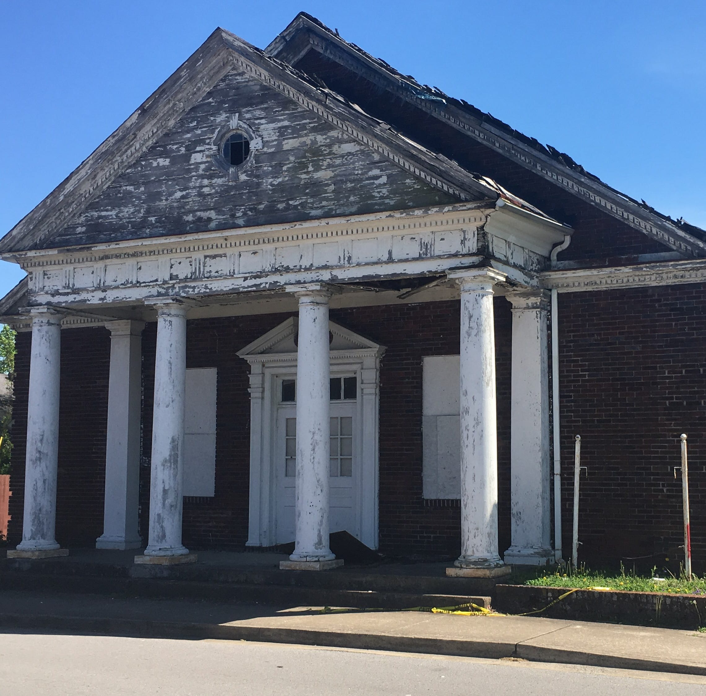 Wesley Chapel Church near downtown Clarksville may be demolished