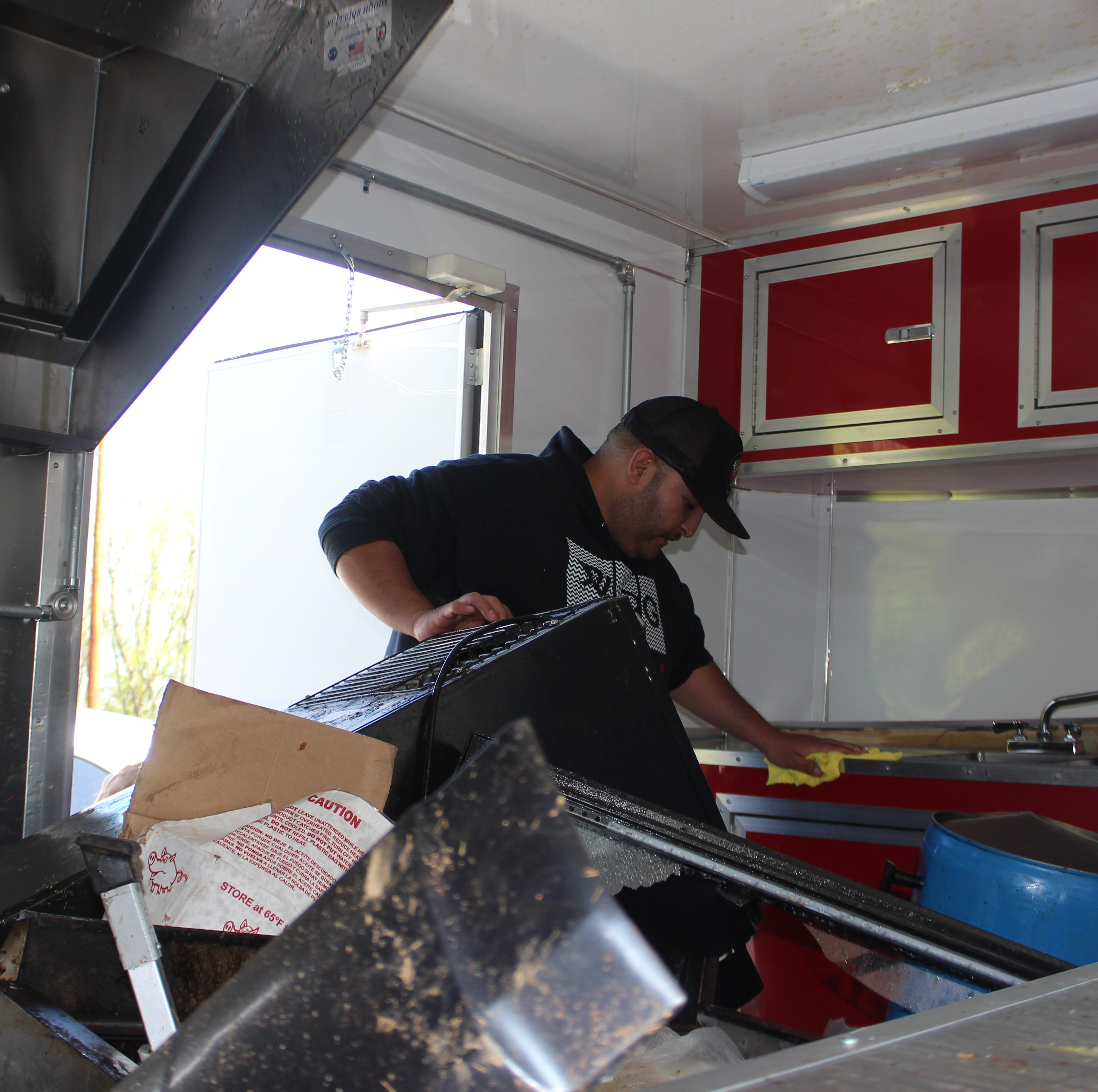How a car wreck turned a Clarksville couple's taco truck and their dreams upside down