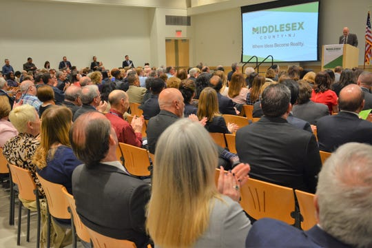 More than 350 Middlesex County residents, business leaders,  students, and government officials were on hand for the 2019 State of Middlesex County address.