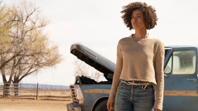 """Gugu Mbatha-Raw in """"Fast Color."""""""