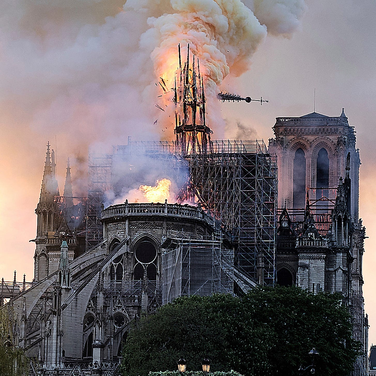 Macron calls on world's 'greatest talents' to rebuild Notre Dame Cathedral