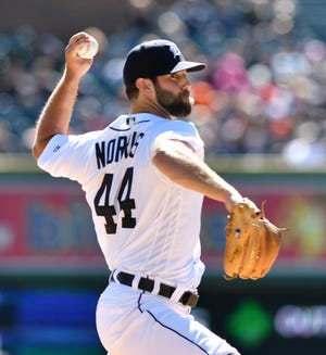 Tigerspitcher Daniel Norris will make his first start of the season Saturday against the White Sox.