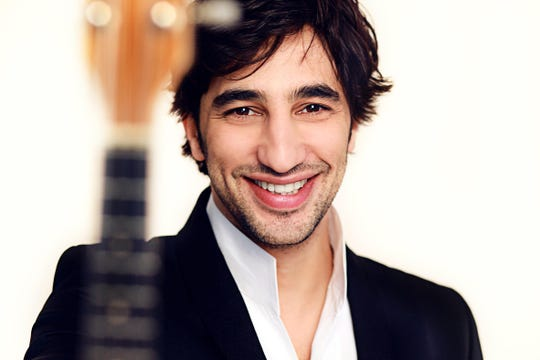 "Israeli mandolinist Avi Avital will perform in the Detroit Symphony Orchestra's ""Vivaldi's Gloria"" program April 25-27."