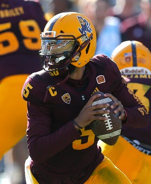 Former Arizona State quarterback Manny Wilkins has seen his NFL draft stock rise in recent weeks.