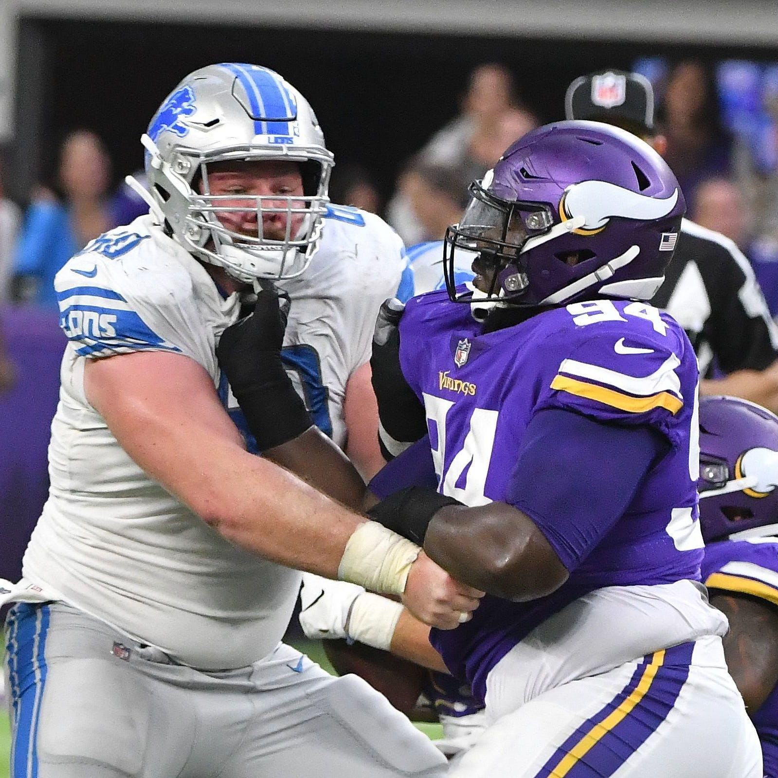 Lions' Graham Glasgow focused on being NFL's best center, not new contract