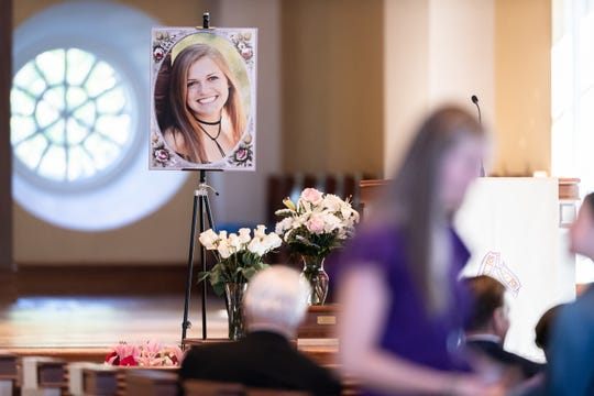 A campus memorial service was held Tuesday, Apr. 16, 2019 at Daniel Memorial Chapel to pay tribute to the life of 20-year-old Furman University student Caroline Smith, who died on Hilton Head Island last week.Smith was at a fraternity party on Hilton Head Island April 6 when she collapsed and died, university officials and investigators said.
