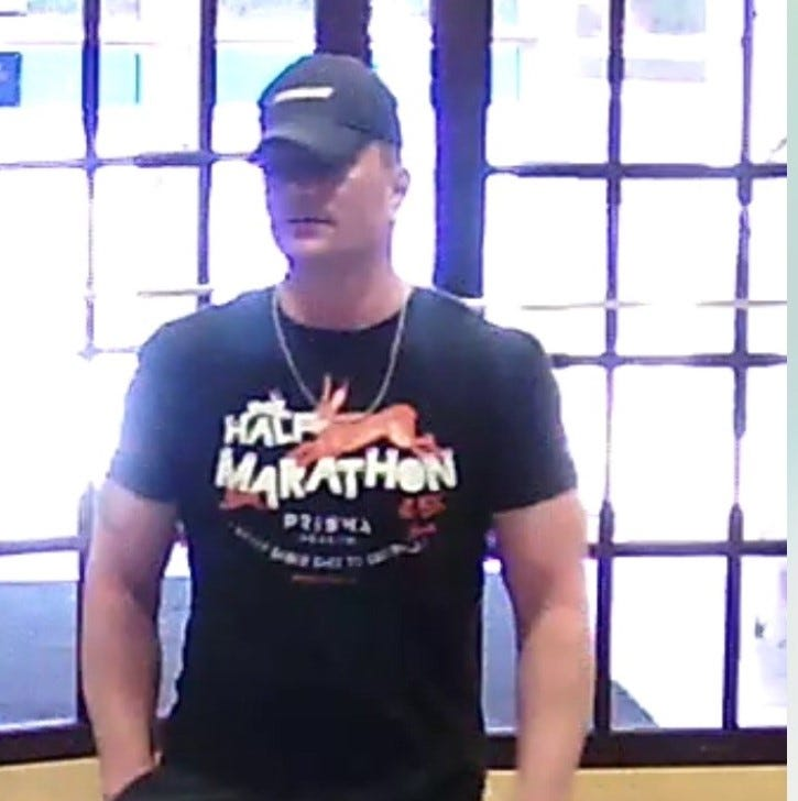 Greenville police seek suspect in bank robbery on Pleasantburg Drive