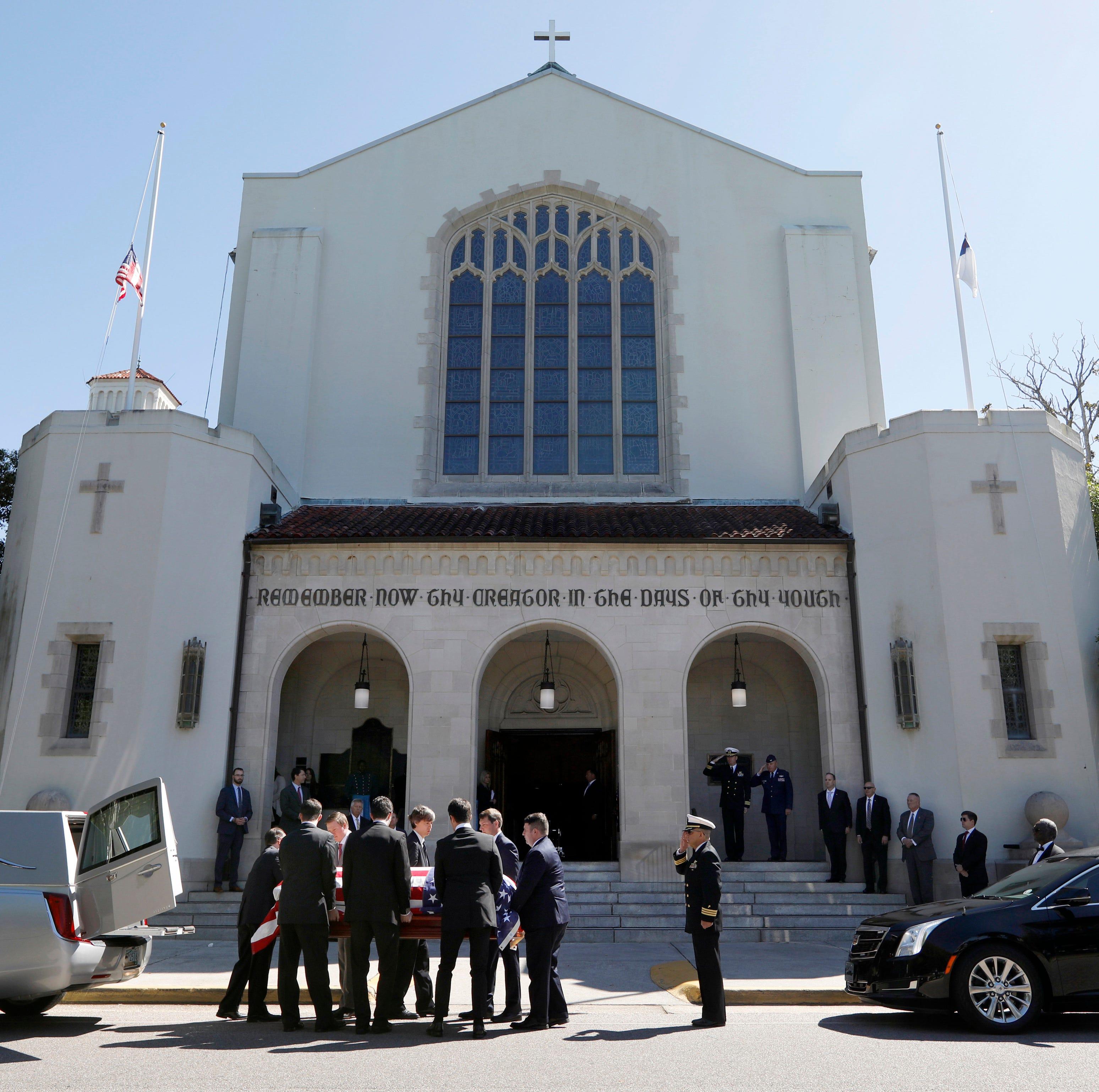 Joe Biden, Jim Clyburn speak at funeral of former US senator from SC Fritz Hollings