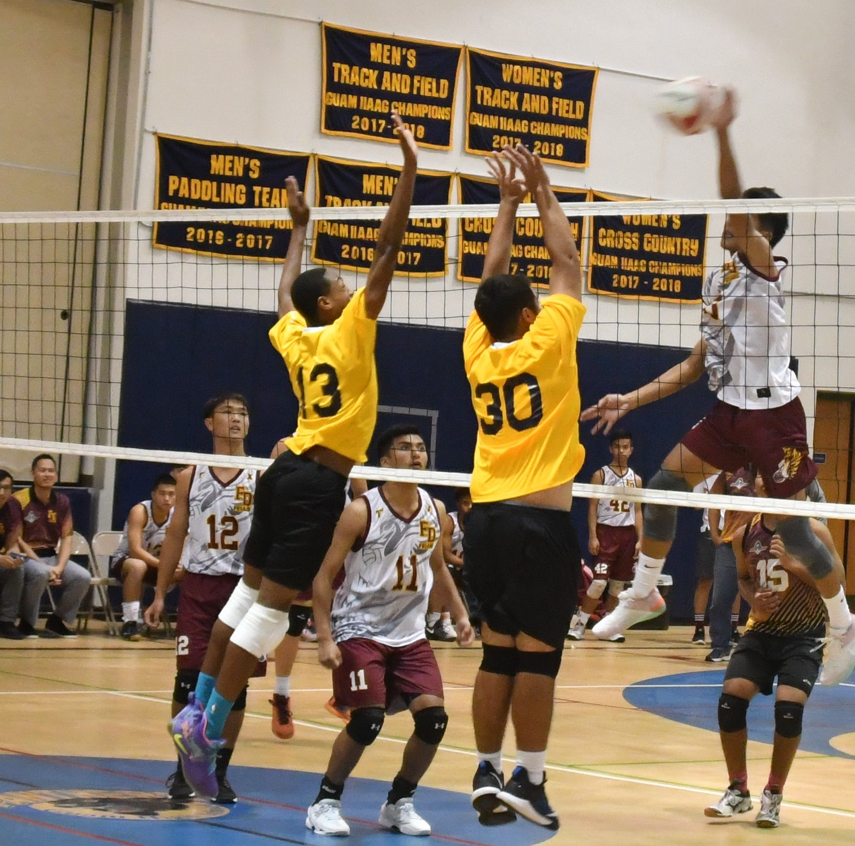 High school volleyball, paddling, bowling continue through holy week