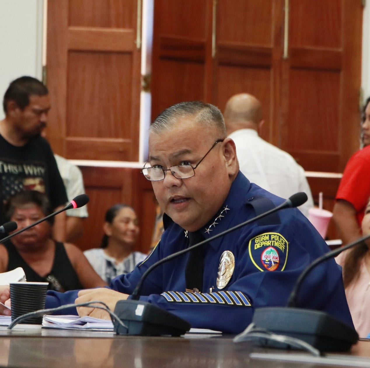 Officers optimistic about acting chief Steve C. Ignacio