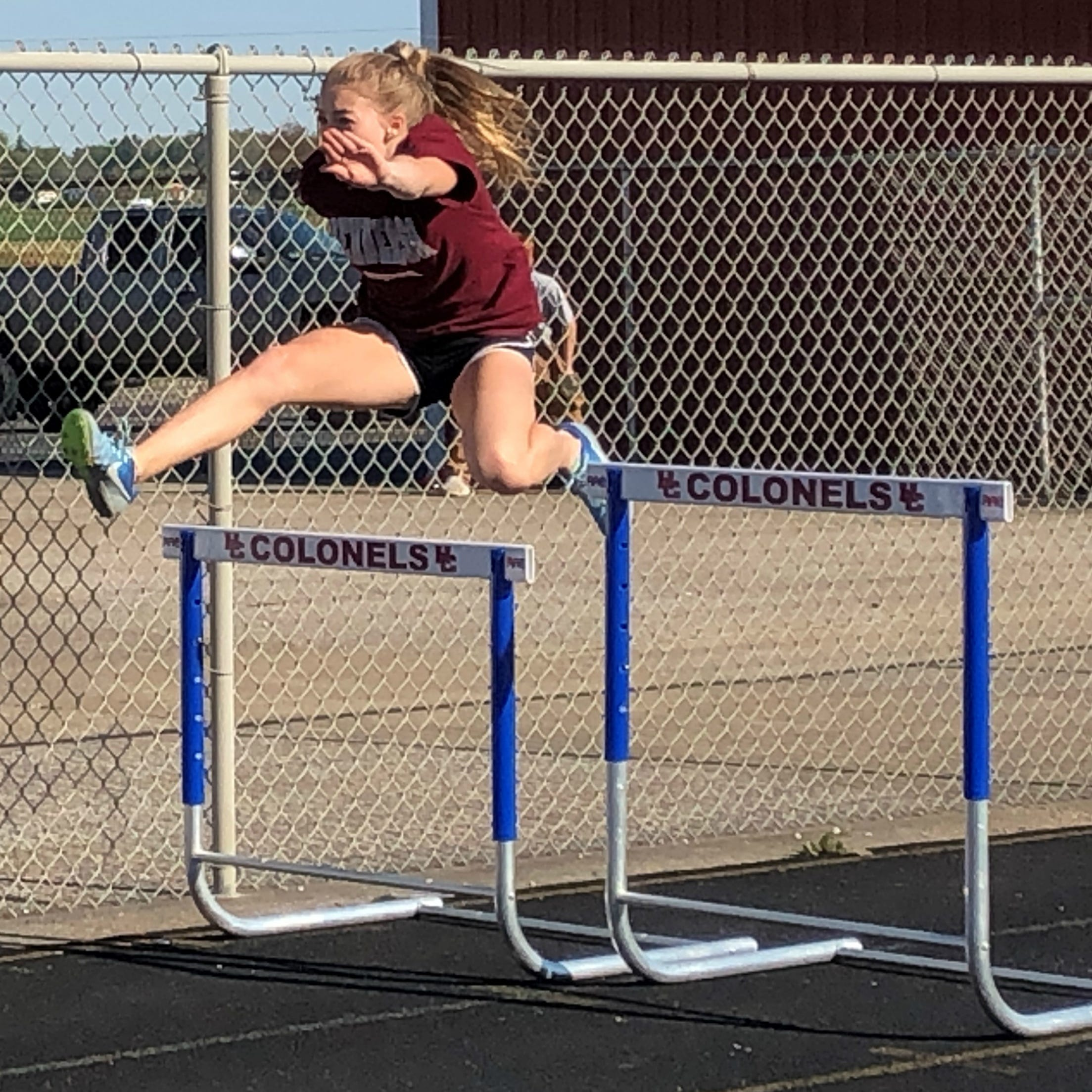 Hurdler Isabella Tichenor motivated to improve on seventh-place finish in state