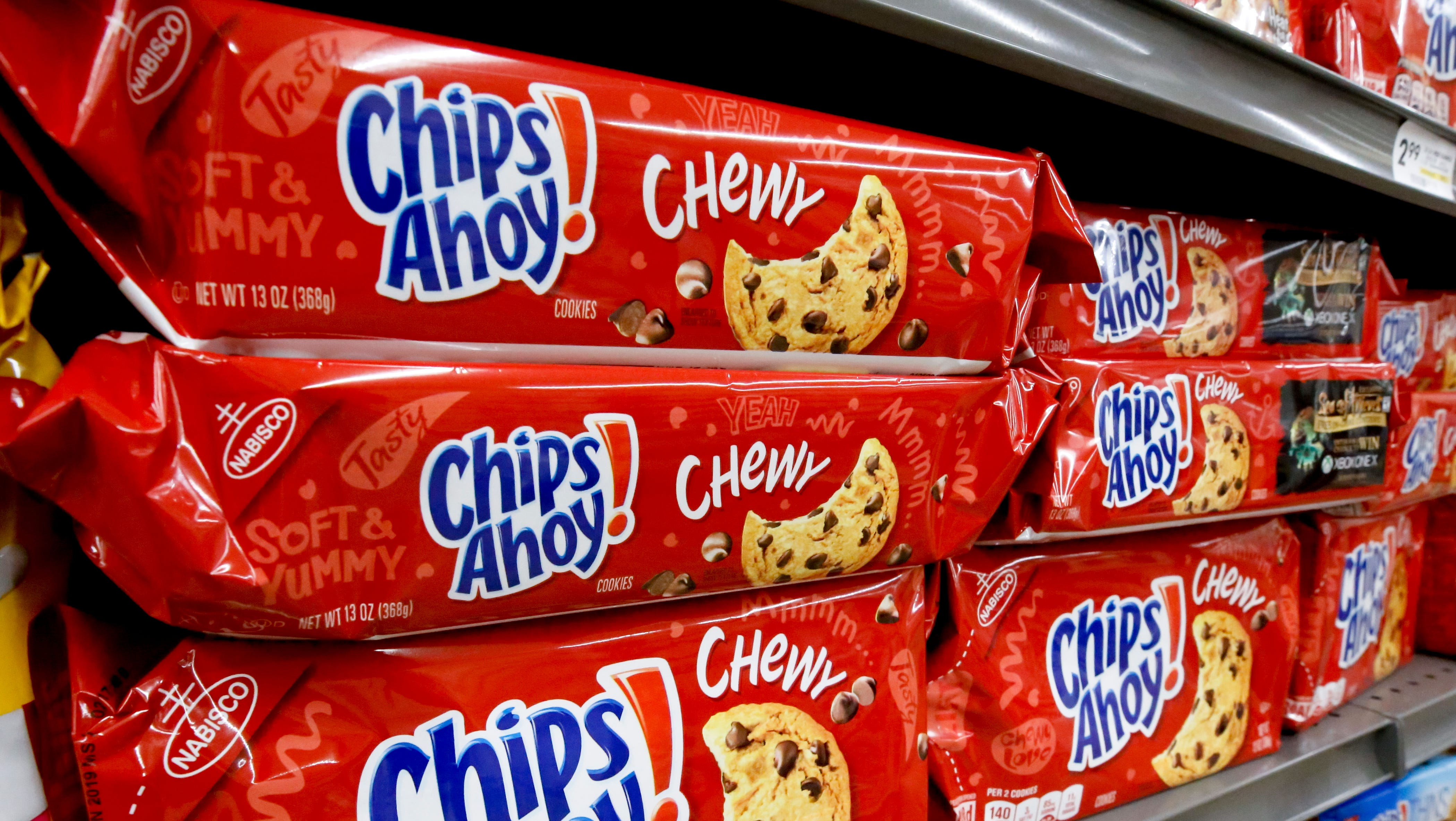 Chewy Chips Ahoy! chocolate chip cookies recalled