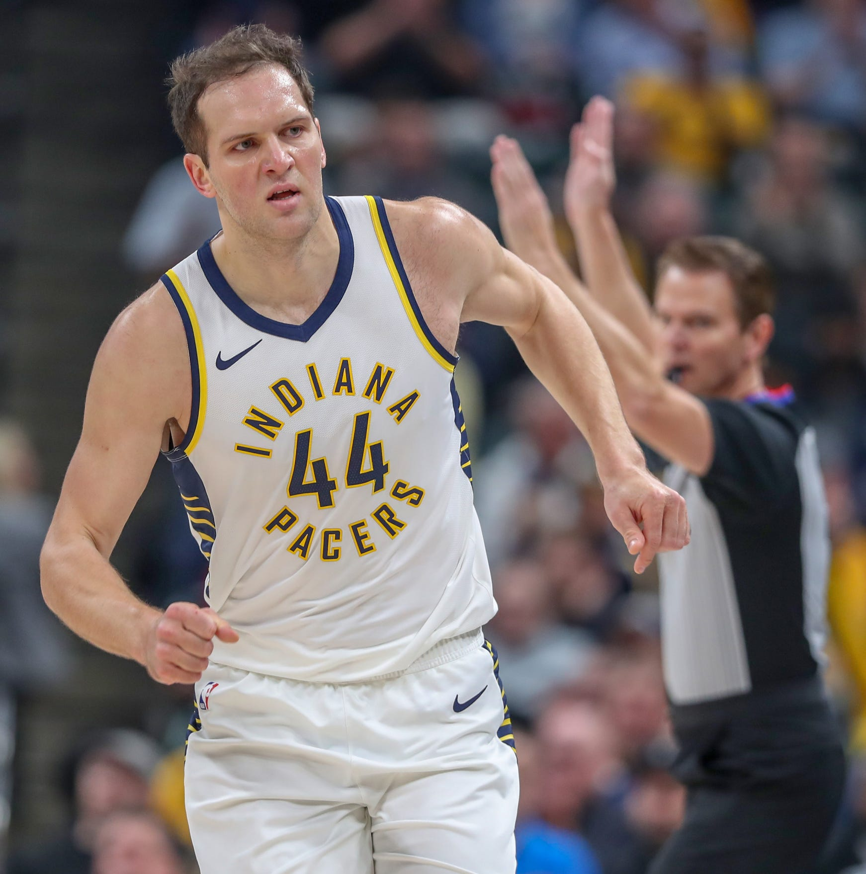 NBA playoffs 2019: Bojan Bogandovic claims 'more responsibility' for Pacers in Game 2
