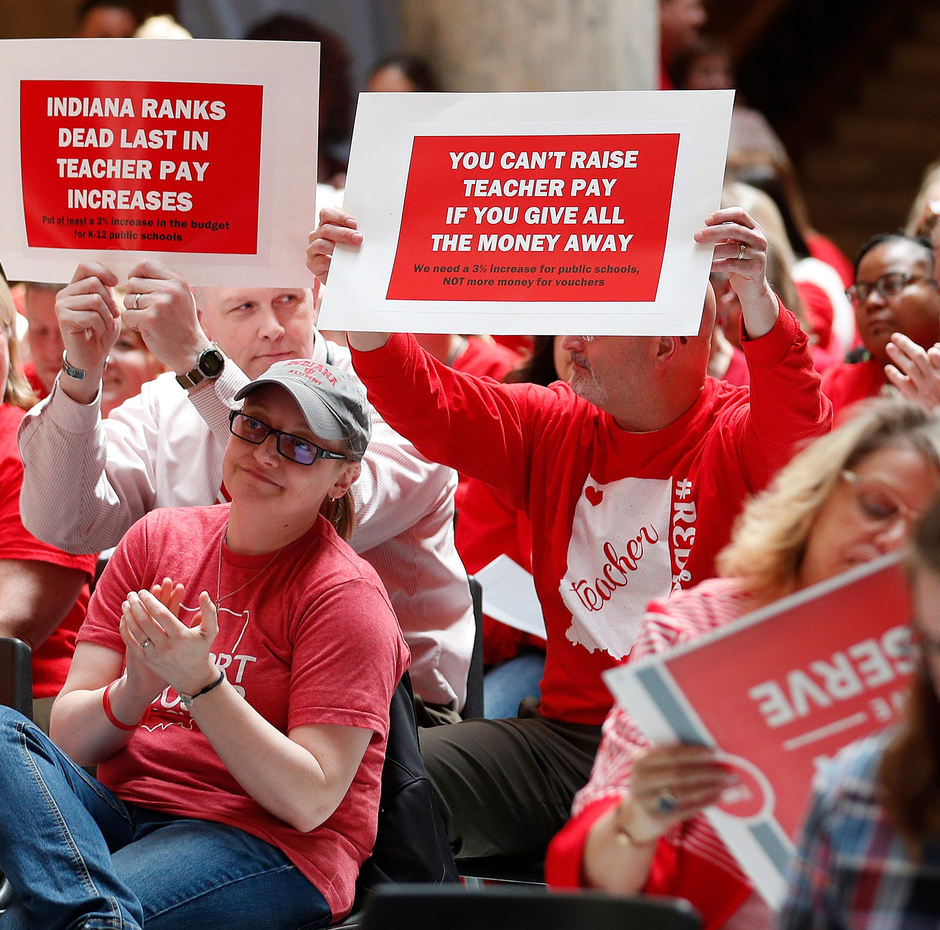 'I'm ready to walk': Teachers looking to lawmakers for last-minute movement on pay, funding