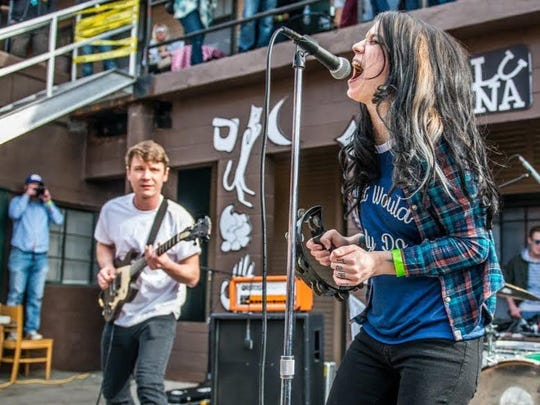 Service the Band will perform April 20 at Pioneer as part of the inaugural Woo Grl festival.