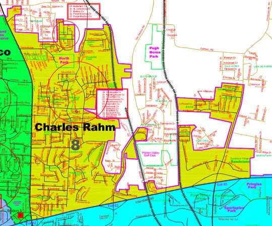 Jackson City Council District 8.