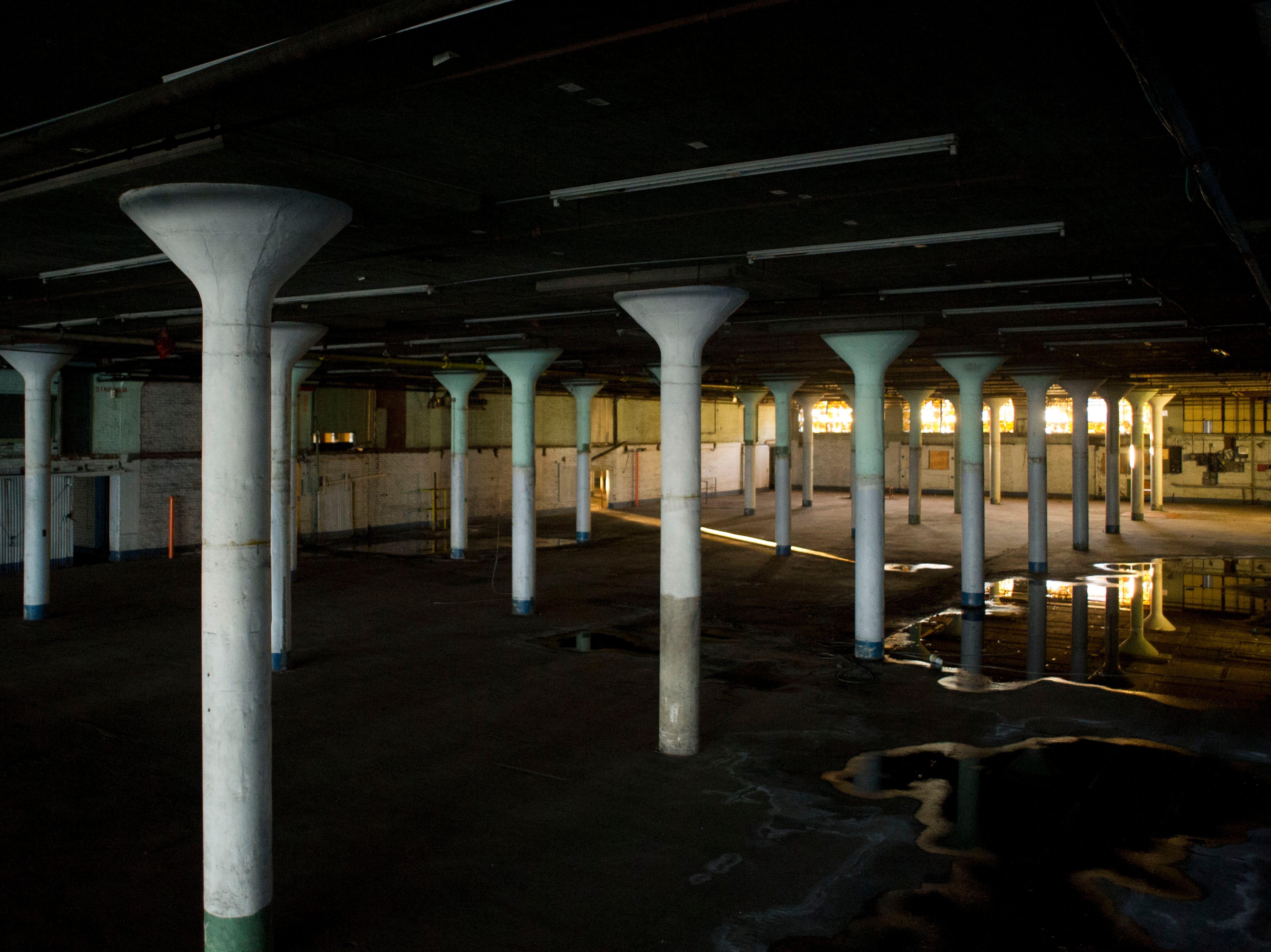 The Standard Knitting Mill building on Thursday, November 15, 2012.