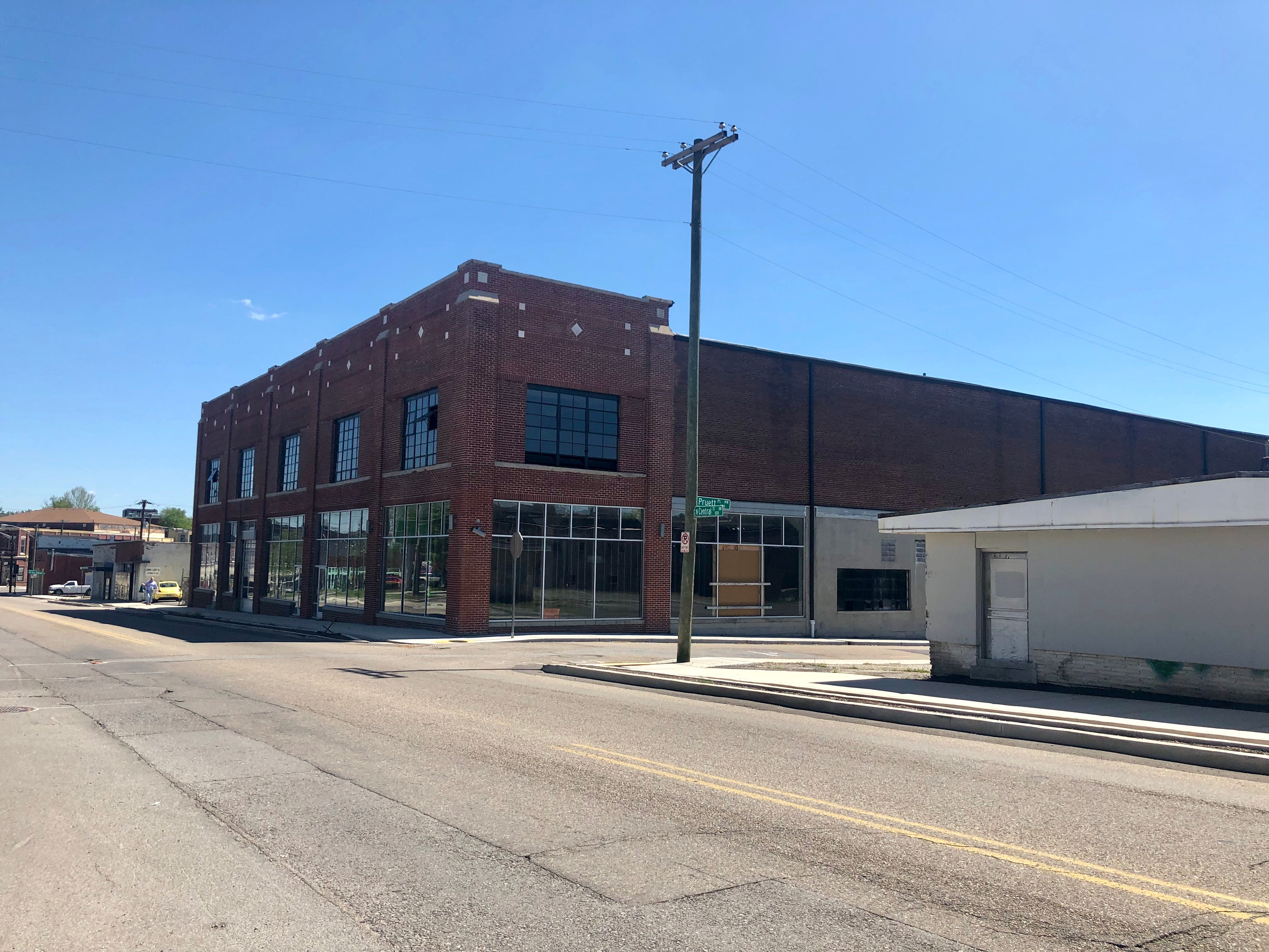 The Hull-Dobbs Building, located at 835 N. Central Street. Owners of this one-time Ford dealership propose to restore the building to its original splendor in preparation to house the headquarters of local third-party logistics company Axle Logistics. There's also the potential for retail on the ground floor. Through the Historic Preservation Fund, they were awarded a $200,000 grant for the project.