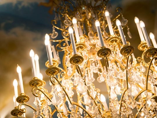 Nearly every light bulb inside Villa Collina has been replaced with LED light bulbs.