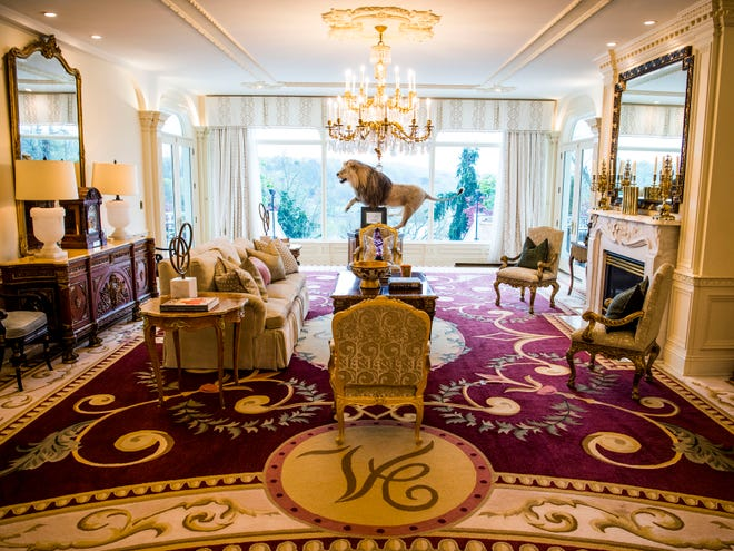Knoxville's Villa Collina mansion, on Lyons View Pike, has been central to intriguing deals recently.