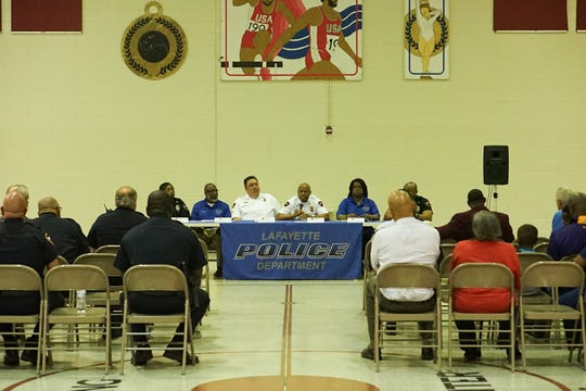 Lafayette Police Department hosted a community event titled Bringing the Community Together, in order to address any concerns held within the neighborhood.
