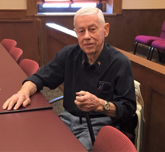 Ray Stemen is an 85-year-old Bremen resident who has regularly attended Fairfield County Board of Commission meetings for about six years after former commissioner Mike Kiger complained about the lack of citizen participation.