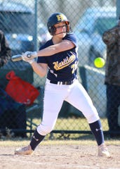 Hartland's Delaney Robeson hit a homer, triple, double and drove in six runs against Northville.