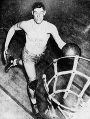LeRoy Edwards played for Kentucky for one varsity season in 1934-35 before starting his professional career.