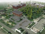An Indianapolis developer has a $24.4 million plan to add 132 units of multi-income housing to a 40-acre campus.