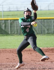 Madison's Sloan Kiser helped the Lady Rams defeat the former No. 1 team in the power poll, Clear Fork, with a dominant pitching performance on Monday night. She has her Lady Rams No. 3 this week.