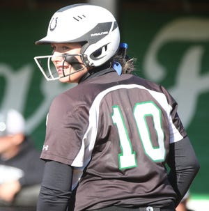 Clear Fork's Haylie Miller was named to the All-Mansfield News Journal first team in 2019.