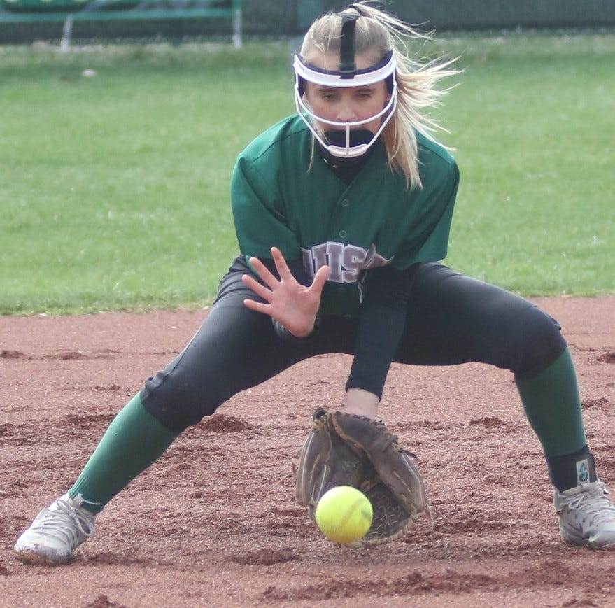 Madison's Paige Eldridge excelling in new spot in batting order