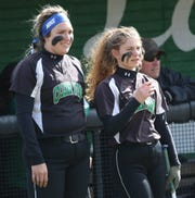Clear Fork's Haylie Miller (left) and Courtney Palmer (right) will be looked at to end the rough patch for the Lady Colts.