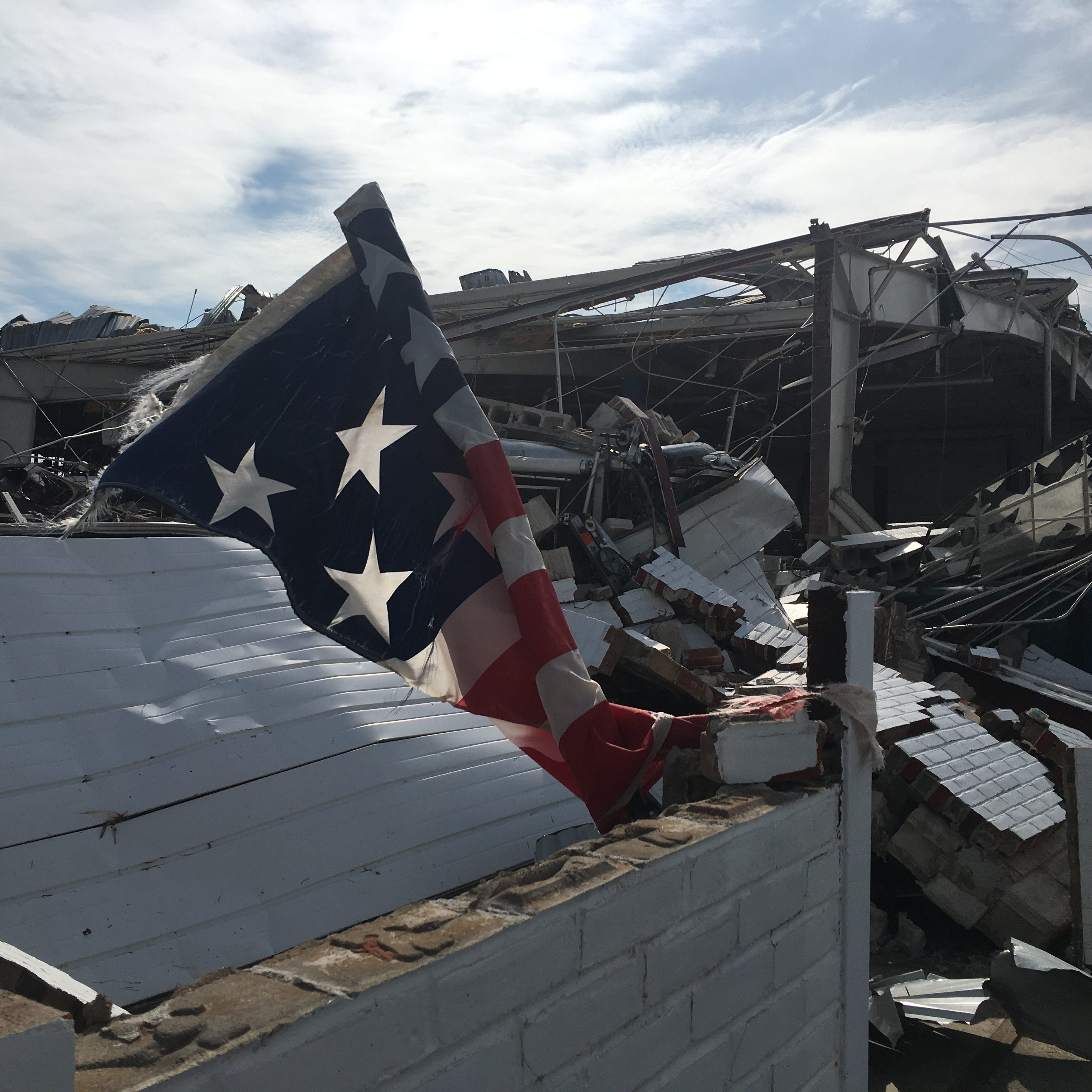 Almost every vehicle at Shelby dealerships damaged by tornado