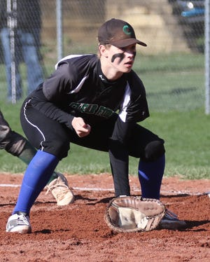 Clear Fork's Brooke Robinson is one of two seniors on the Lady Colts softball team who are looking to put the finishing touches on a nice career.