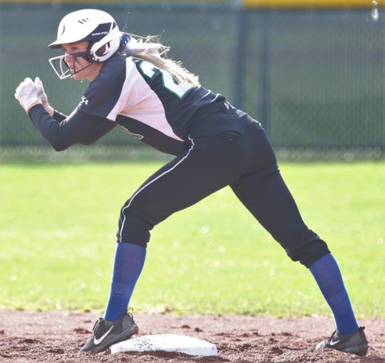 Clear Fork's Carson Crowner has her sights set on the school career stolen bases record of 212 held by Taylor Kline.