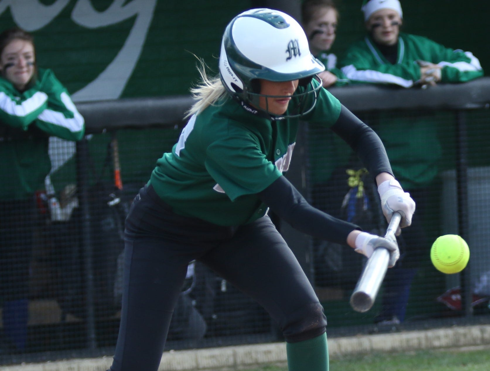 Since moving up to the No. 2 spot in the batting order, Madison's Paige Eldridge is 8-for-11 and spear-heading a 3-game winning streak for the Lady Rams.