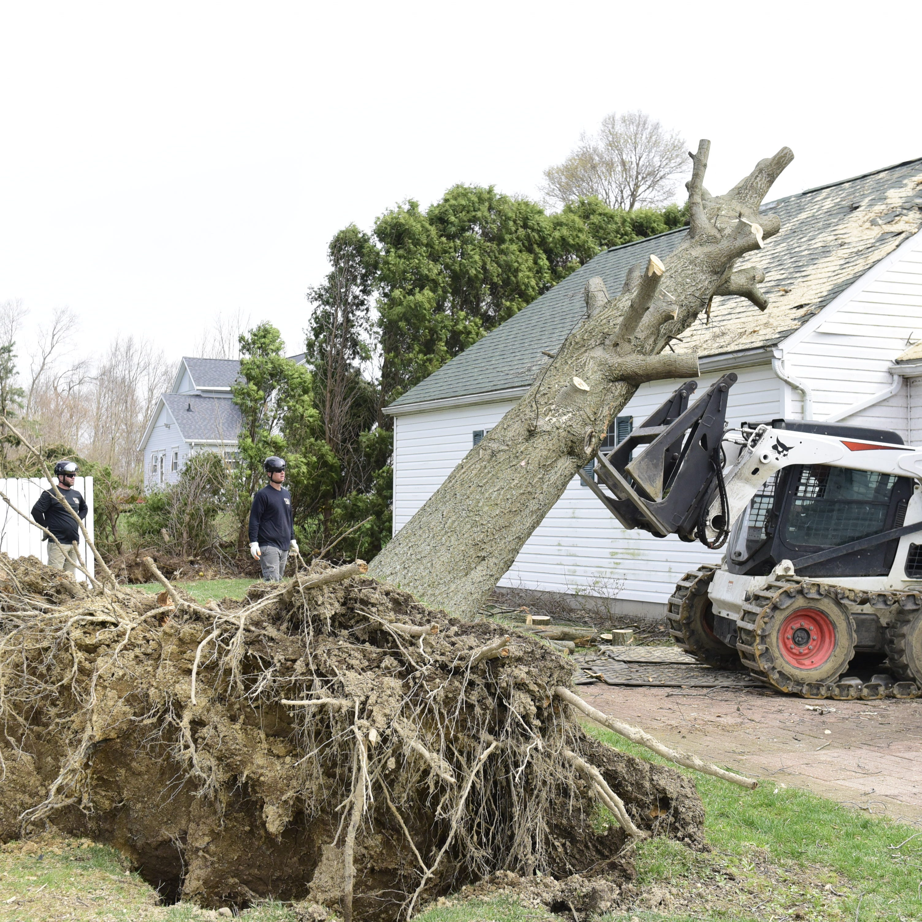 Tornado toll: 107 structures affected, 16 destroyed