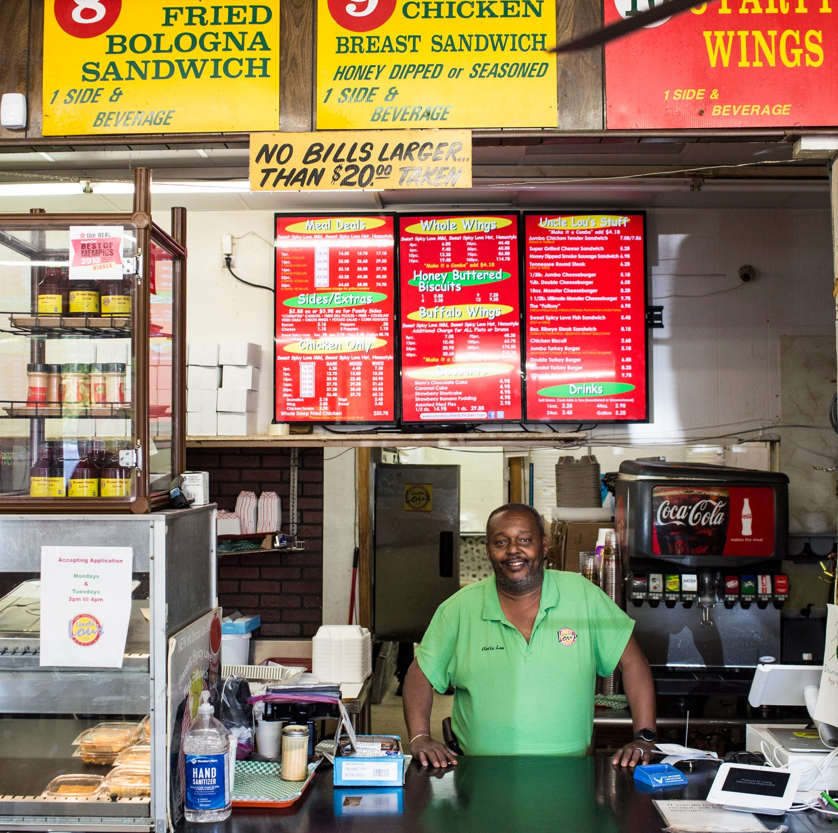 In the Kitchen: Meet the man who fries up 'sweet spicy love' at Uncle Lou's Fried Chicken