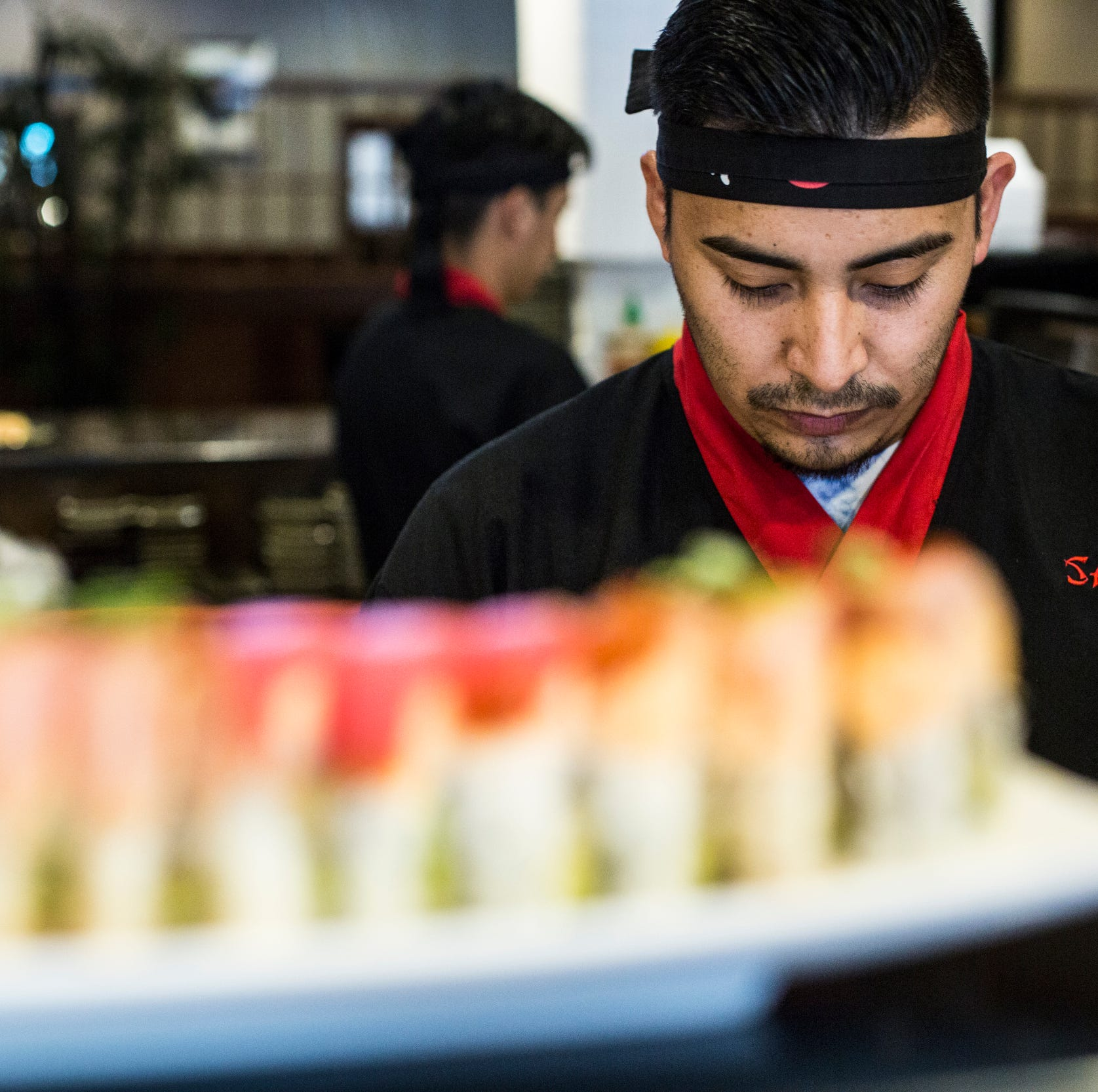 Sakura takes sushi to an art form with creative specialty house rolls; here's how they do it