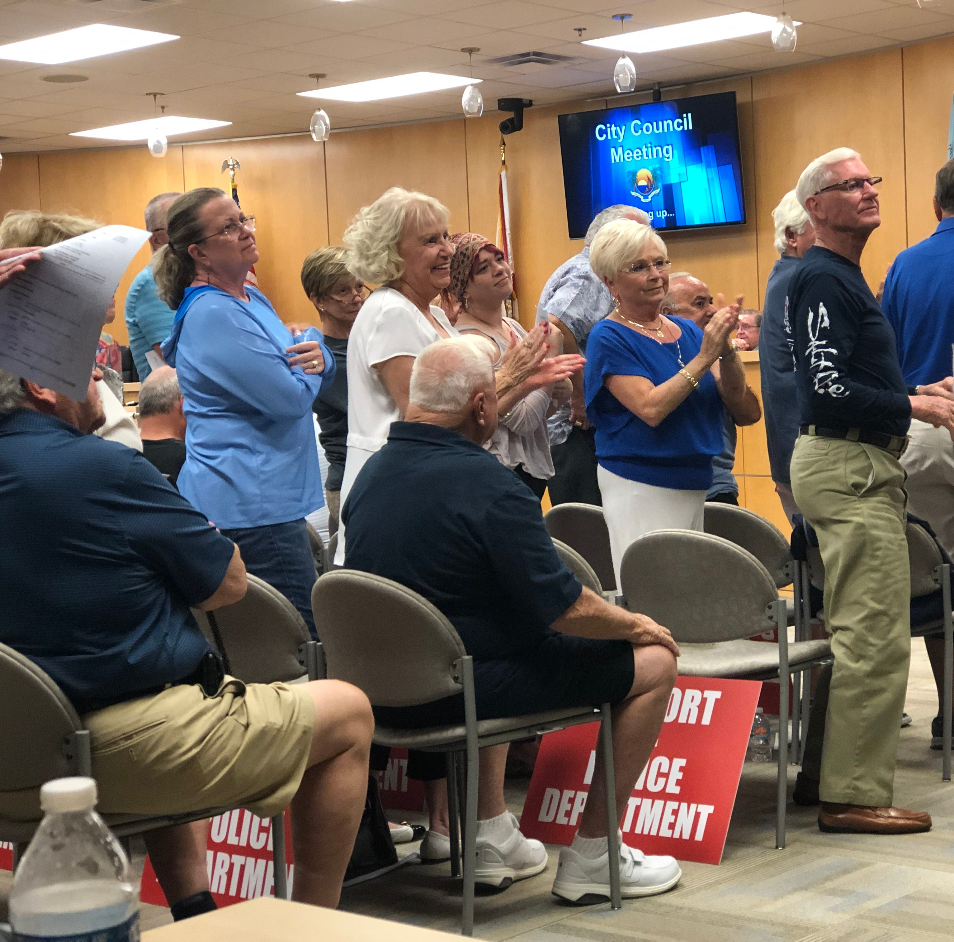 Marco Island city manager says police chief decision stands