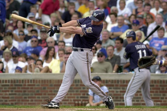 Jeromy Burnitz was one of the great power hitters in Brewers history.
