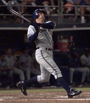 Tyler Houston was a corner infielder for the Brewers in 2000.