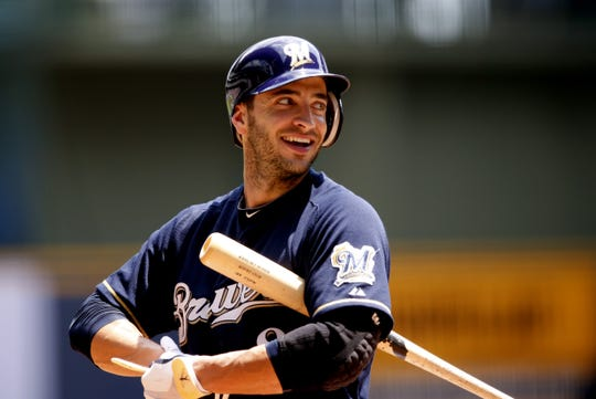 Ryan Braun has belted three homers in a game twice with the Brewers.