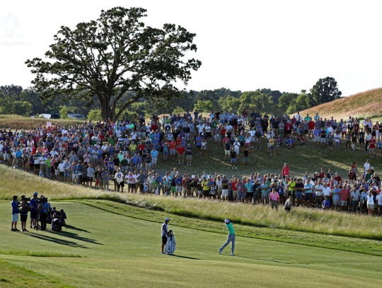 Erin Hills hosted the men's U.S. Open in 2017.
