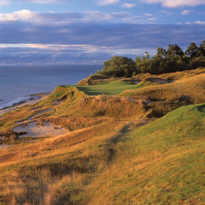 The 17th hole at Whistling Straits in Haven won't be hosting the Ryder Cup until September 2021.