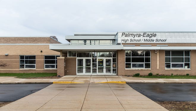 Palmyra-Eagle High School/Middle School as seen on Tuesday, April 16, 2019.